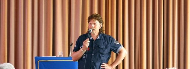 Detlef Krass referierte beim Hausfrauenbund zum Thema altersgerechtes Wohnen.