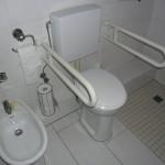Barrierefreier Badumbau - behindertengerechte Toilette