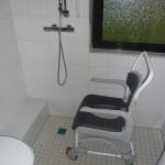 Barrierefreier Badumbau - bodengleiche Dusche
