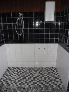 Badumbau barrierefrei - bodengleiche Dusche