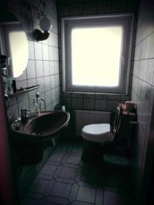 Bad - vor der altersgerechten Sanierung