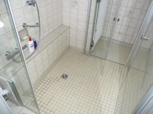 Bodengleiche Dusche - barrierefrei
